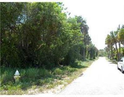 Stuart, Jensen Beach Residential Lots & Land For Sale: 00 NE Palmetto