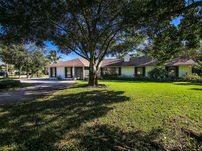 Palm City Single Family Home For Sale: 2532 SW Racquet Club