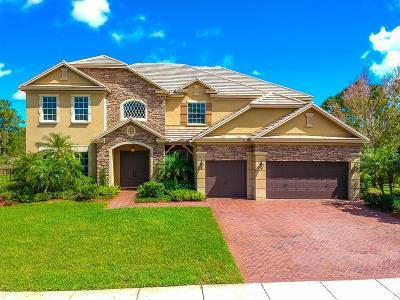 Palm City Single Family Home For Sale: 761 SW Canoe Creek