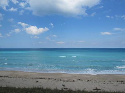 Jensen Beach Condo/Townhouse For Sale: 8750 S Ocean Drive