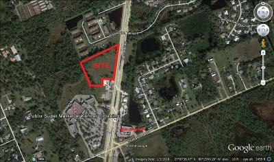 Stuart, Jensen Beach Residential Lots & Land For Sale: Kanner Highway