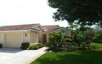 Palm City Single Family Home For Sale: 1492 SW Greens Pointe
