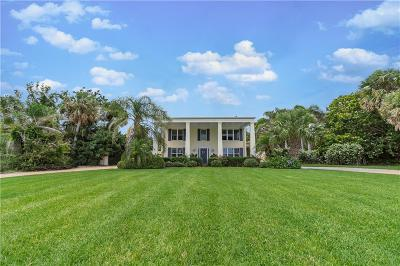 Fort Pierce Single Family Home For Sale: 3115 S Indian River