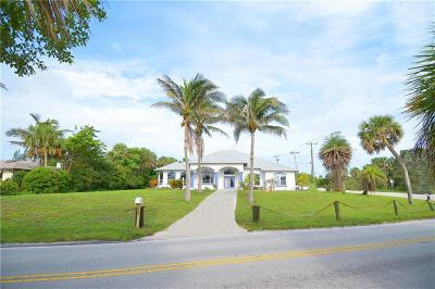 Fort Pierce Single Family Home For Sale: 5001 S Indian River