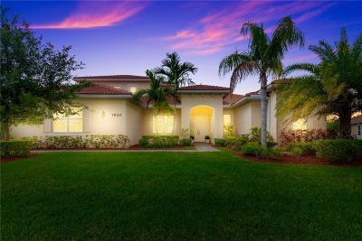 Stuart Single Family Home For Sale: 7620 SE Belle Maison