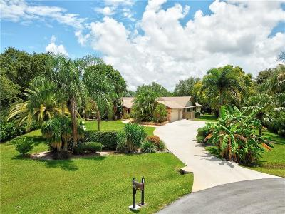 Jensen Beach Single Family Home For Sale: 346 NE Ficus