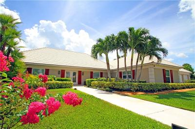 Yacht & Cc/Stuart, Yacht & Count Club Of Suart, Yacht & Country Club, Yacht & Country Club Of Stuart, Yacht & Country Club Stuart, Yacht And Country Club Of Stua, Yatch & Country Club Stuart Single Family Home For Sale: 3252 SE Fairway West