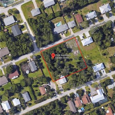 Stuart, Jensen Beach Residential Lots & Land For Sale: 2954 SE Garden