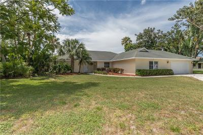 Jensen Beach Single Family Home For Sale: 2348 NE Ginger