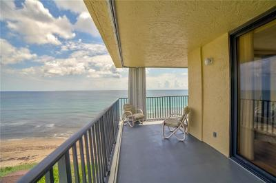 Stuart, Jensen Beach, Hutchinson Island Condo/Townhouse For Sale: 7380 S Ocean Drive
