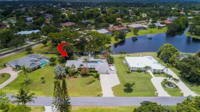 Jensen Beach Single Family Home For Sale: 3114 NE Loquat Lane