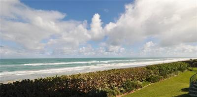 Stuart, Jensen Beach, Hutchinson Island Condo/Townhouse For Sale: 8650 S Ocean Drive
