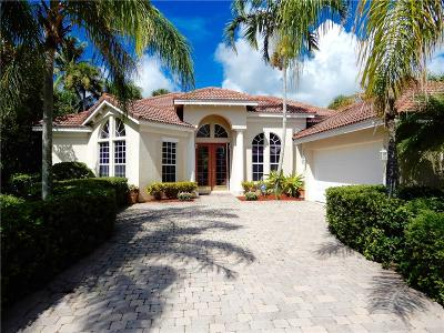 Hobe Sound Single Family Home For Sale: 8402 SE Sanctuary Drive