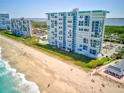 Stuart, Jensen Beach, Hutchinson Island Condo/Townhouse For Sale: 9940 S Ocean Drive