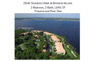 Palm City Condo/Townhouse For Sale: 2506 NW Seagrass Drive