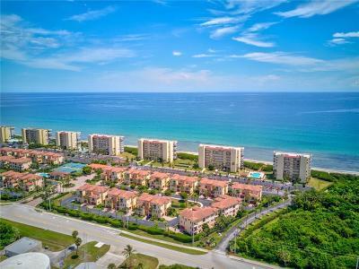 Stuart, Jensen Beach, Hutchinson Island Condo/Townhouse For Sale: 7430 S Ocean Drive
