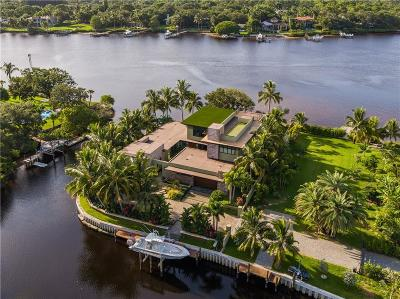 Palm Beach County Single Family Home For Sale: 5511 River Cove