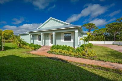 Stuart Single Family Home For Sale: 3089 SE River Breeze Place
