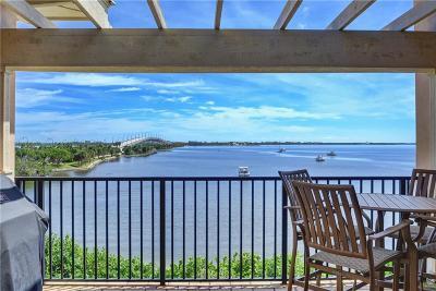 Jensen Beach Condo/Townhouse For Sale: 3704 NE Indian River Drive