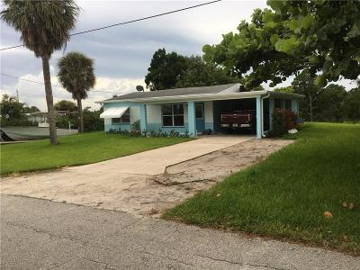 Jensen Beach Single Family Home For Sale: 3354 NE Indian Drive