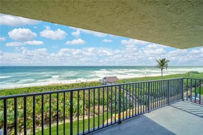 Stuart, Jensen Beach, Hutchinson Island Condo/Townhouse For Sale: 7370 S Ocean Drive