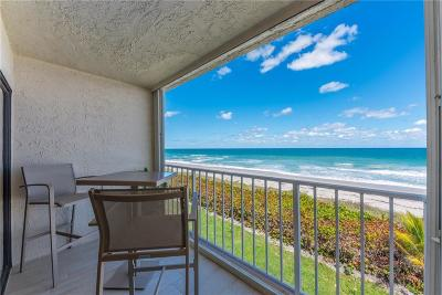 Saint Lucie County Condo/Townhouse For Sale: 10102 S Ocean Drive