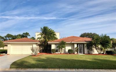 Palm City Single Family Home For Sale: 2281 Starling Drive