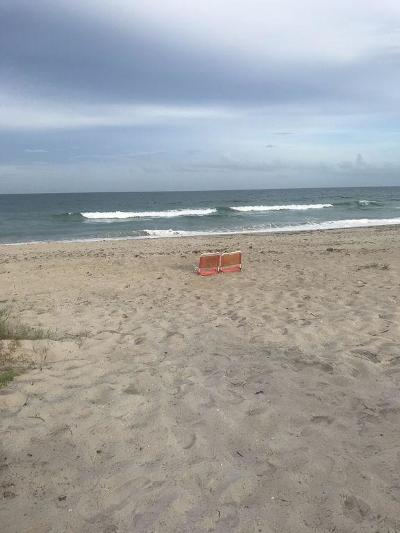 Saint Lucie County Condo/Townhouse For Sale: 2507 N Ocean Drive