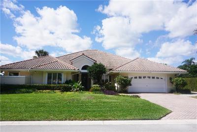 Hobe Sound Single Family Home For Sale: 11598 SE Plandome Drive