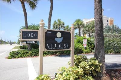 Jensen Beach Condo/Townhouse For Sale: 11000 S Ocean Drive