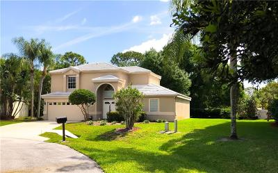 Martin County Single Family Home For Sale: 9253 SE Woods End Place