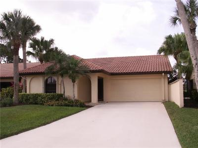 Martin County Single Family Home For Sale: 2524 SW Bobalink Circle