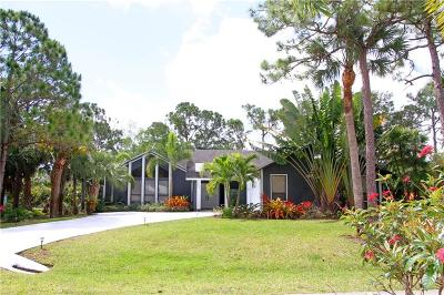 Palm City Single Family Home For Sale: 1204 SW Tiburon Way