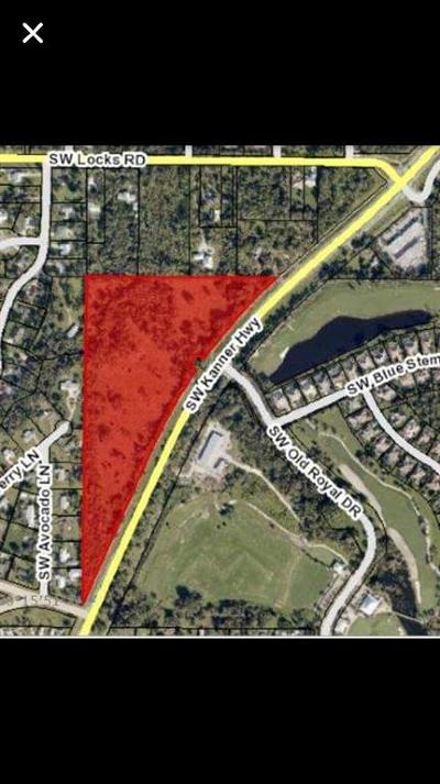 Stuart FL Residential Lots & Land For Sale: $850,000