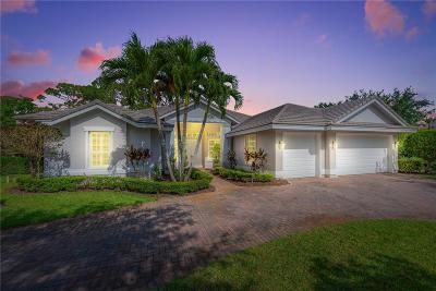 Lost Lake @ Hobe Sou, Forest Glade 01, Osprey Cove Yacht Club, Sanctuary Single Family Home For Sale: 7900 SE Sequoia Drive
