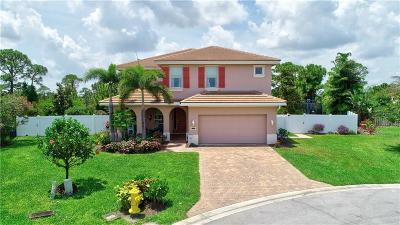 Jensen Beach Single Family Home For Sale: 2178 NW Dalea Way