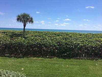 Jensen Beach Condo/Townhouse For Sale: 9900 S Ocean Drive