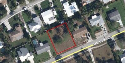 Stuart FL Residential Lots & Land For Sale: $225,000