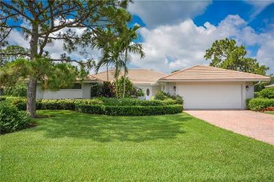 Palm City Single Family Home For Sale: 1443 SW Troon Circle