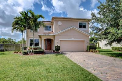 Jensen Beach Single Family Home For Sale: 1880 NW Waterwillow Way
