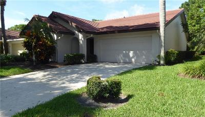 Palm City Single Family Home For Sale: 2744 SW Willowood Circle