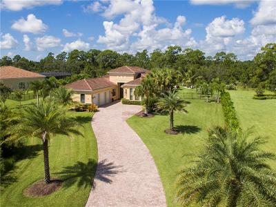 Palm City Single Family Home For Sale: 5275 SW Longspur Lane