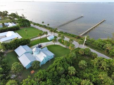 Jensen Beach Single Family Home For Sale: 11995 S Indian River Drive