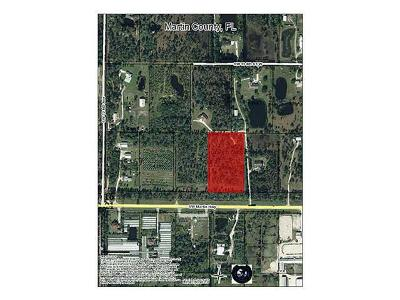 Palm City Residential Lots & Land For Sale: Martin Highway (Sr 714th)