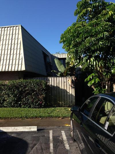 West Palm Beach Rental Leased: 1700 Embassy Drive #Apt 502