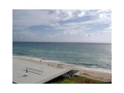 Palm Beach Rental Leased: 3560 S Ocean Boulevard #606