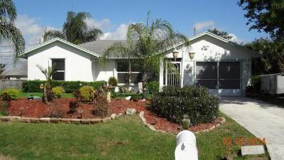 Port Saint Lucie FL Single Family Home Closed: $95,000