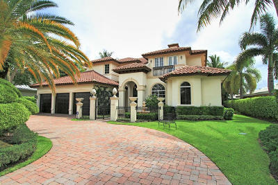 Boca Raton FL Single Family Home For Sale: $2,499,000