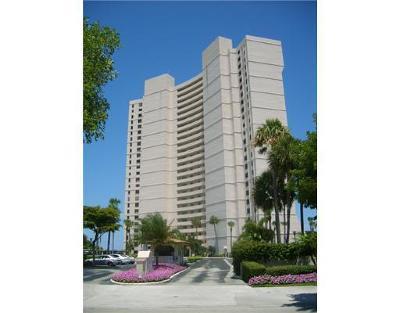 West Palm Beach Rental Leased: 5200 Flagler Drive #2104
