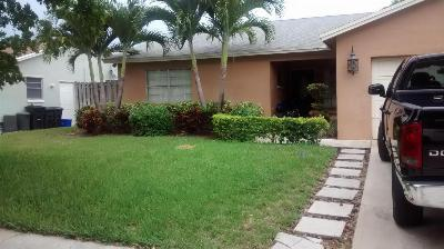 Boca Raton FL Single Family Home Contingent: $230,000